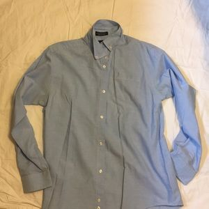 Nautical button down dress shirt